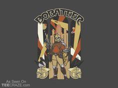 Bobateer T-Shirt - http://teecraze.com/bobateer-t-shirt/ -  Designed by Arinesart    #tshirt #tee #art #fashion #clothing #apparel #StarWars