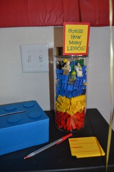 Lego themed party game