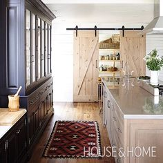 Revealed! The best H&H kitchens of 2015. See if your favorite made the list on houseandhome.com [Design: Barbara Purdy and Olivia Botrie | Photo: Angus Fergusson] @barbpurdydesign