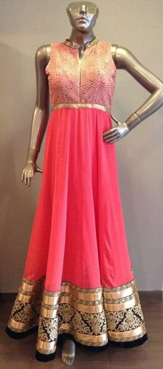 Indowestern gown for the indian women