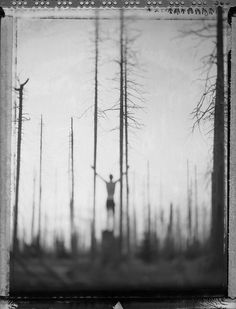 Photographer Bastian Kalous tromps around the woods and mountains near his home, deep in the Bavarian forest (plus a few far away places as well), with one of his many Polaroid cameras loaded with expired film. The resultant images, which we spotted… Film Photography, Landscape Photography, Polaroid Pictures, Polaroids, Polaroid Film, Alternative Photography, Colossal Art, Shoot Film, Black And White Photography