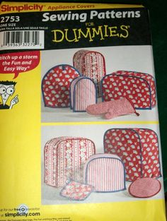 Simplicity Appliance Cover Pattern by ARubensRubies on Etsy, $8.00
