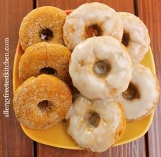 Blog-Pumpkin donut2  allergy friendly and egg free