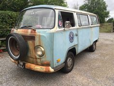 early bay tin top campervan Volkswagen Bus, Vw Camper, Bay Window, Campervan, Van Life, Cars For Sale, Tin, Classic Cars, Trucks