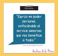 Decreto poder personal | Andrea de la Mora