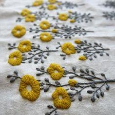 aprendendo a bordar: Yumiko Higuchi, artista do bordado