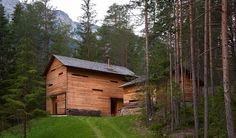 Mountain Lodge Tamersc Inspired by Alpine Traditions in South Tyrol