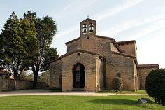 Iglesia de San Julián de los Prados, Oviedo, Spain (pre-Romanesque)