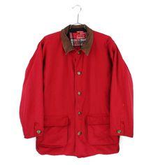 0d2bcb92081 Marlboro Jacket XL Mens Vtg Barn Coat Flannel Lined Leather Chore Ranch  Field  Marlboro