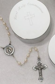 Rosary with Communion Case