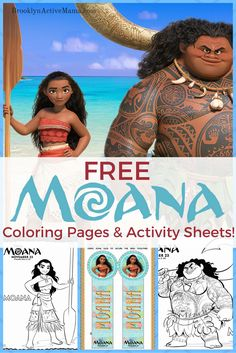 Looking for some fun printables for the kids (or you! Free Moana Movie Coloring Pages + Activity Sheets! Featuring Moana and all the characters from this awesome Disney movie! Moana Disney, Walt Disney, Disney Diy, Indoor Activities, Learning Activities, Activities For Kids, Disney Activities, Baby Led Weaning, Moana Printables