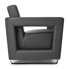 The all new Distinct series contemporary lounge chair with metal base is available now at OfficeFurnitureDeals.com! This super cool guest seating solution offers ample wow factor at an affordable price point. #ModernLounge #CoolLobby #LoungeChairs