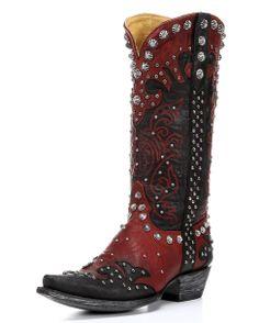 Old Gringo Women's Raelene Boot - Black/Red
