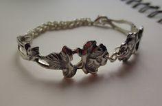 Jewelry from a alpaca spoon Alpakka lusikasta rannerengas