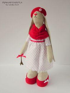 Ручная работа by natulja-best: Зайка-парижанка \ Rabbit Parisienne