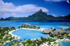 Le Meridian Resort Bora Bora our Honeymoon spot ....