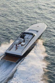 External view Itama Yacht - Itama62 #yacht #luxury #ferretti #itama