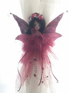 Minadori Art Filc Felt Feltro: Bordowa wróżka/Burgundy fairy