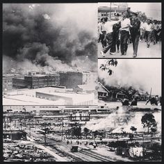 FEED | Websta  The Tulsa Race Riot (KNOWN AS THE BLACK WALL ST) was burned to the ground 93 yrs ago Today. Whites attacked the black community of Tulsa, Oklahoma (known as the wealthiest black community in the United States). More than 800 blacks were admitted to local white hospitals (the black hospital was burned down). Police arrested & detained over 6k black residents (for their protection). An est10K blacks were left homeless & 35 city blocks (inc 1,200 residences) burned Down (39…