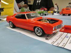 69 Camaro Model Car, Scale Models, Cars, Autos, Scale Model, Car, Automobile, Trucks