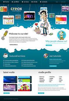Joomla Web Design Template....