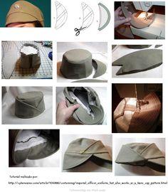 confeccion de sombreros de tela - Buscar con Google