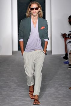 male fashion show   Michael Bastian Spring 2013 collection slideshow