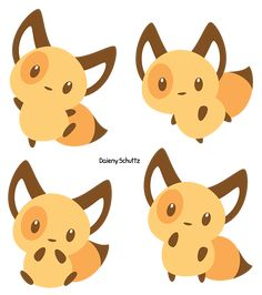 Chibi Lineless Fox