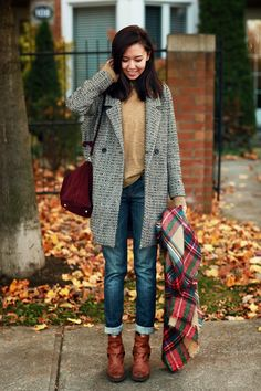 Tweed Boyfriend Coat http://www.somemoment.com/product/tweed-boyfriend-coat/