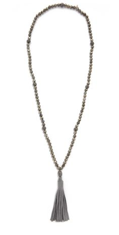 Hipchik Couture Emelia Tassel Necklace | SHOPBOP