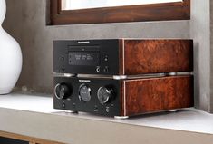 "In a surprise Friday evening announcement, Marantz has unveiled the HD-CD1 CD player. It's compact chassis is filled with ""premium-class"" technology borrowed from the company's full-sized CD players. The new player is an accompaniment to the company's HD-DAC1 headphone amp and its HD-AMP1 integrated amp. You gotta admit, the HD-CD1 and HD-AMP1 make a cute … Continue reading Marantz Announces HD-CD1 Premium Compact CD Player"