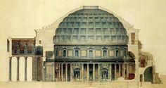 Roma, Pantheon. Dottrina dell'Architettura
