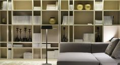 Innovative Bookcase Room Decorating Design