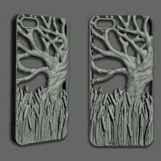 iPhone Case - Cattails by sjenneman