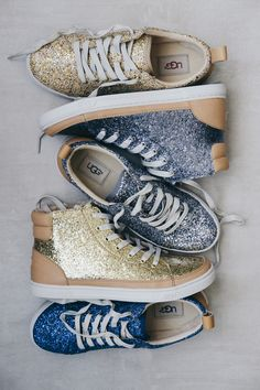 #GLITTER. Get with it. Shop the Glitter Sneaker Collection.
