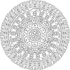 Chakra of Liberation through Wearing . Tibetan Mandala, Tibetan Art, Tibetan Buddhism, Buddhist Art, Tibetan Tattoo, Black Magic Book, Protection Symbols, Gautama Buddha, Historical Art