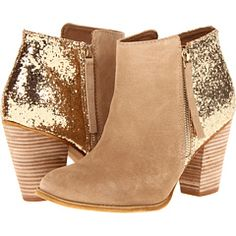 In love with these glitter booties.