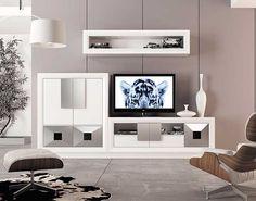 Muebles Portobellostreet.es:  Composicion de Salon Carmen - Ambientes de Salón de Diseño - Muebles de Diseño Sweet Home, House, Explore, Nice, Ideas, Shape, Home, Furniture Showroom, Outside Furniture