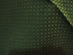 "SCHUMACHER fabric sample Dark green textured 26"" x 25' Nice piece for ..."