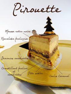 : November 2018 Schokolade, Praline, Namelaka, E . Mini Desserts, Zumbo's Just Desserts, Zumbo Desserts, Plated Desserts, Cinnamon Desserts, Gourmet Desserts, Bakery Recipes, Dessert Recipes, Entremet Recipe