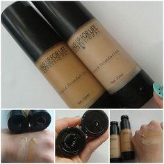 «#Свотчи #тональныйкрем #MakeupForLife 3,7. Покрьітие среднее, подходят для сухой и нормальной кожи)»