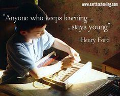 Homeschooling inspirations from www.Earthschooling.com
