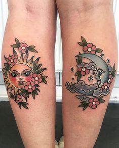 Moon Sun Tattoo, Sun Tattoos, Body Art Tattoos, Tattoo Drawings, Small Tattoos, Sleeve Tattoos, Tatoos, Tattoos Skull, Peace Tattoos
