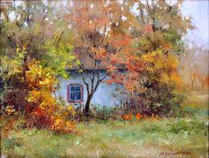 Осенний домик.