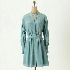 Anthropologie Leifsdottir dress Dress: 100% silk;  Lining: 100% polyester Anthropologie Dresses Long Sleeve