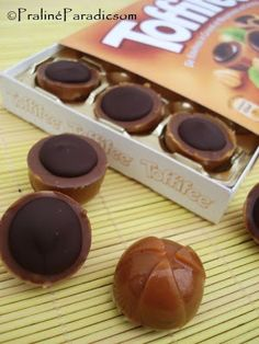 Praliné Paradicsom: Házi Toffifee Caramel, Chocolate World, Those Were The Days, Crepes, Fudge, Biscuits, Muffin, Food And Drink, Pudding