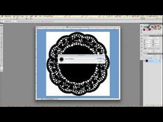 How to make a doily brush in Photoshop  http://www.creativityprompt.com/page/2/