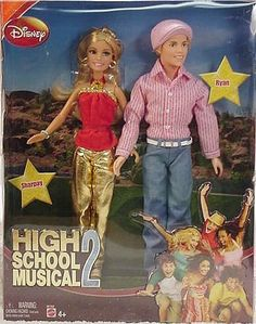 High School Musical 2: Sharpay and Ryan Dolls by Mattel. $49.95. For ages 4 yrs. and up. Inspired by the Disney movie High School Musical 2, this adorably attired doll wears an outfit featured in the film. Part of the High School Musical 2 Fashion Doll collection (all items sold separately). High School Musical 2 Fashion Dolls Assortment Time for a comeback! An all-new High School Musical 2 debuts, and the cast and characters are all here! Collect each of your favorite chara...