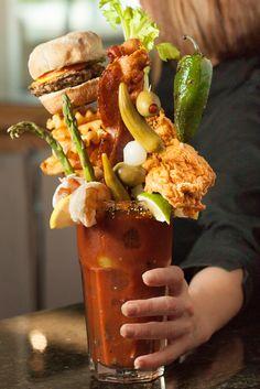 "Chef Point Restauratns's  ""Best Bloody Mary"" in  TEXAS"