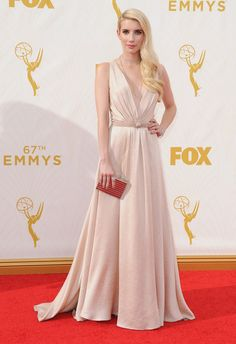 fe9bbec9b125 Emma Roberts-Bespoke- The 67th Annual Primetime Emmy Awards  Jennypackham  www.jennypackham